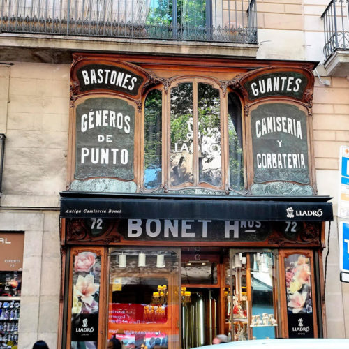 negocios históricos de barcelona.