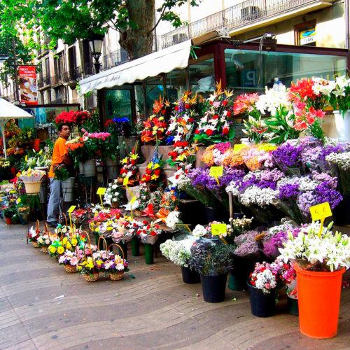 rambla de las flores
