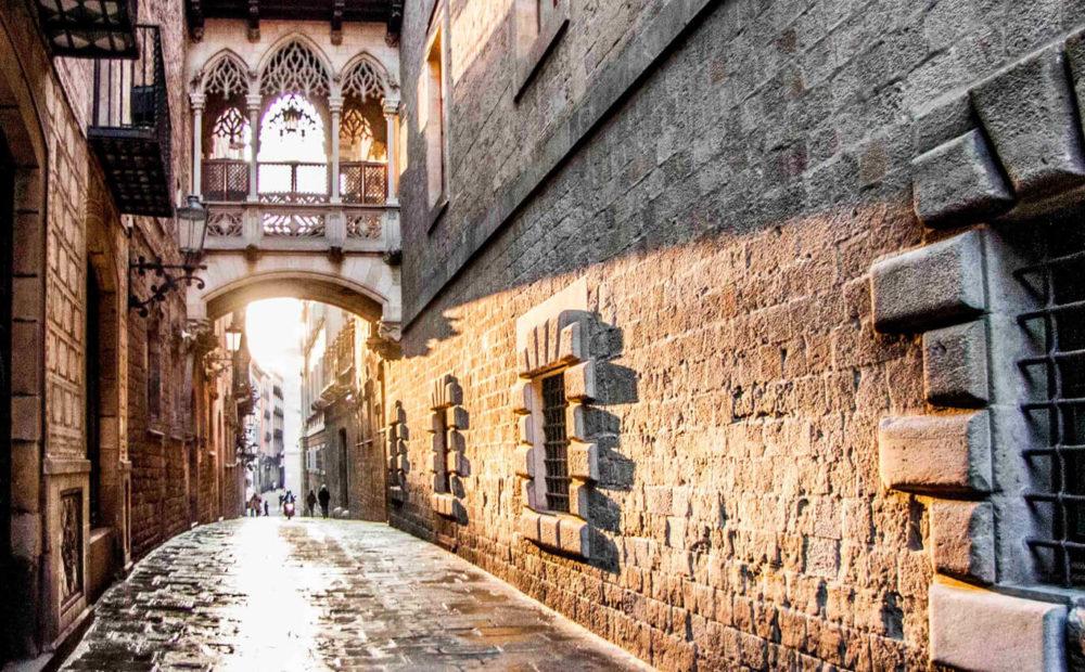 fotos del barrio gotico