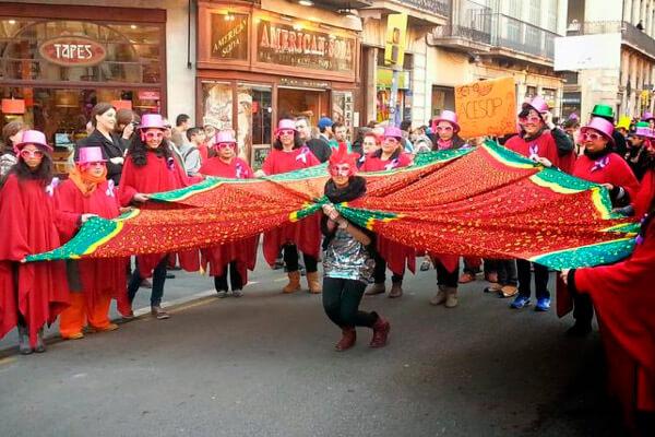 carnaval en barcelona
