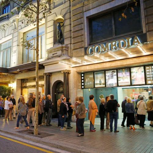 cines en barcelona