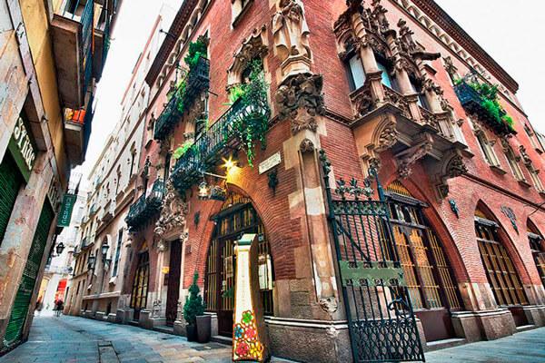 Els Quatre Gats en Barcelona.