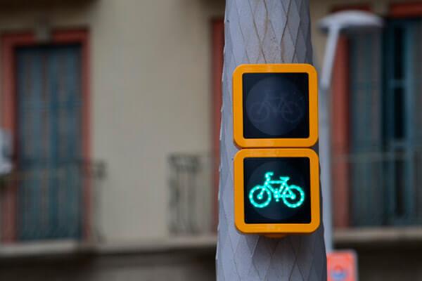 barcelona en bicicleta.
