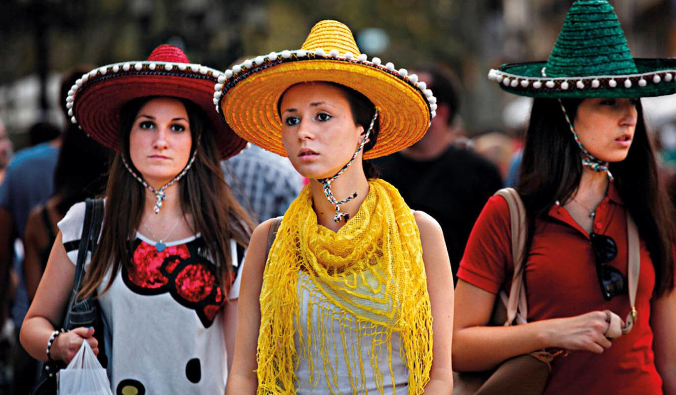 Quan hi havia barrets mexicans a La Rambla: què en va ser d'aquest ...