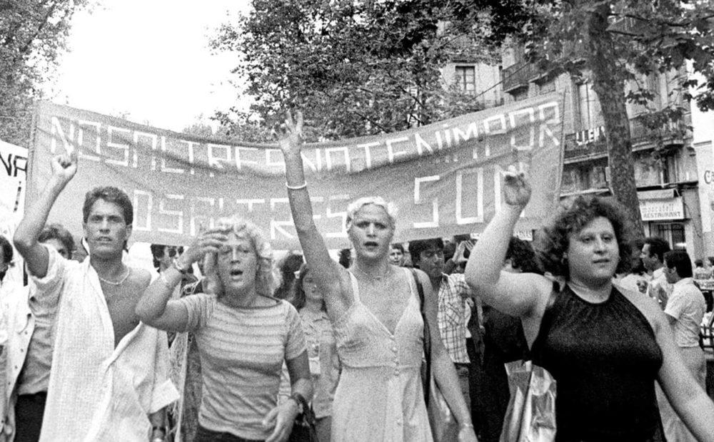 primera manifestación lgtb en españa