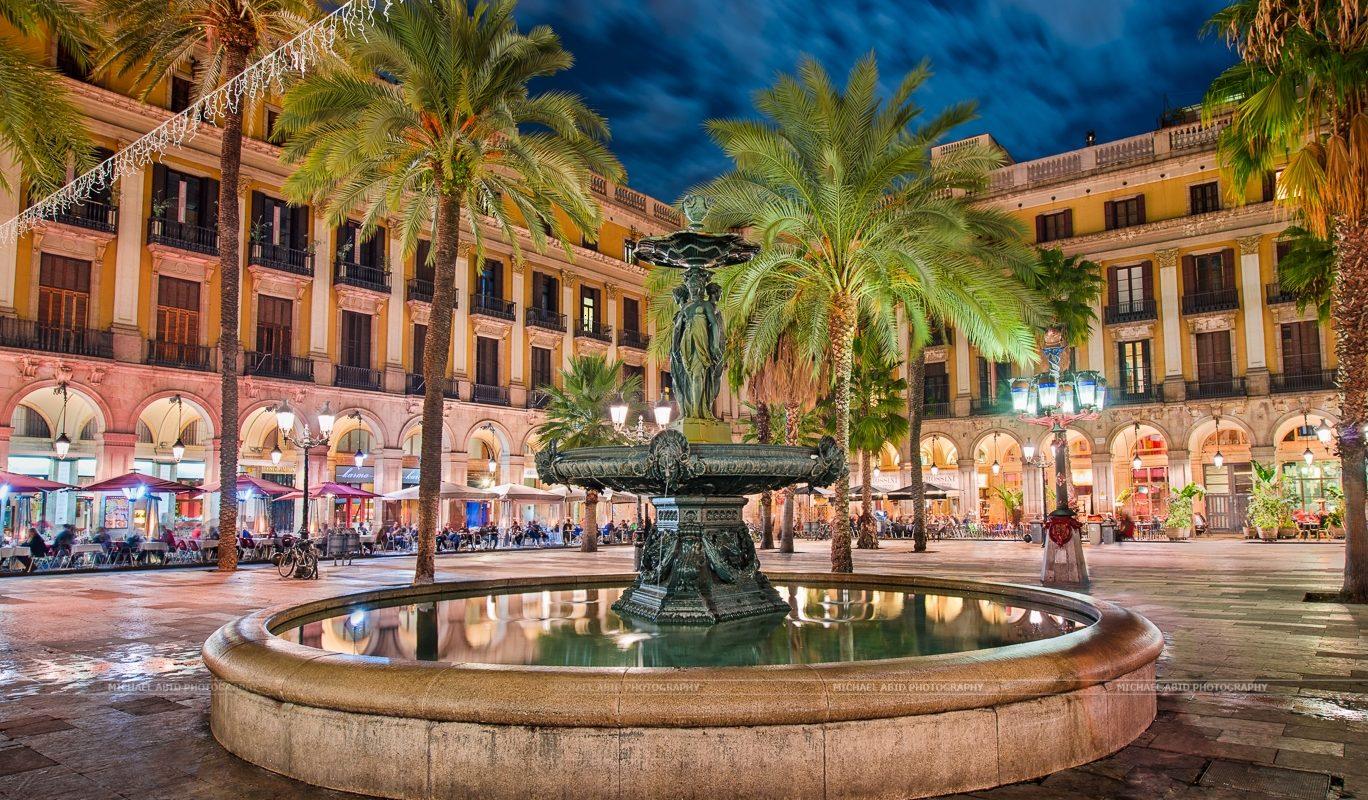 hur tillbringar vi 48 timmar i barcelona, gaudi, shopping, mat, tapas, sagrada familia, biljetter, park guell, las ramblas, placa reial Placa Reial, plaza real