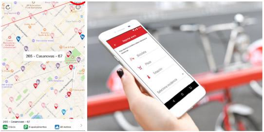 App del nuevo bicing